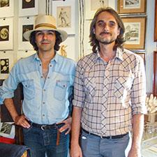 Frédéric Buquet et Louis de Boulanges – Allée 8 Stand 160