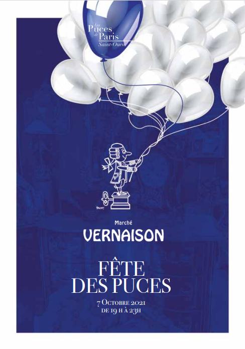 Fête des puces 7 oct. 2021 - Invitation du marché Vernaison
